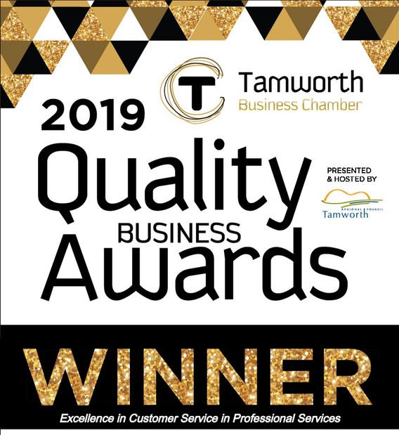 Rebel Heart Photography Tamworth Quality Business Awards Winner