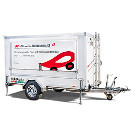 Mobile Heizzentrale MHZ 150