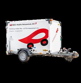Mobile Heizzentrale MHZ 80