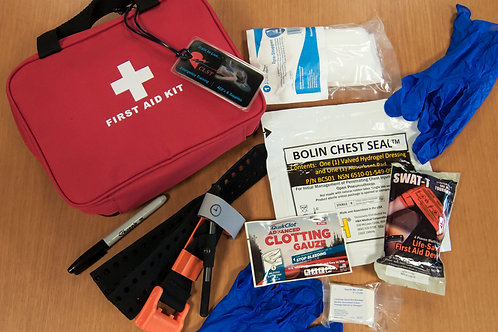 CLST Stop the Bleed Kit with Chest Seal