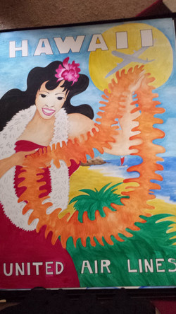 Hawaian Poster