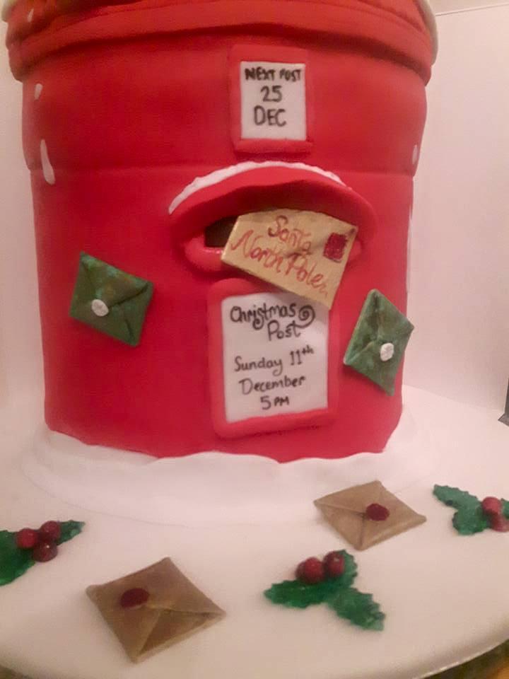 Christmas Postbox Detail