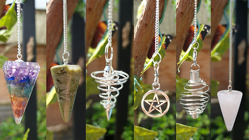 Pendulums (prices vary)