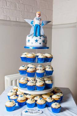 Hollister Man Cake Tower