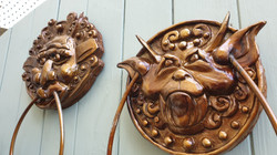 Bronzed Door Knocker Pair Side.jpg