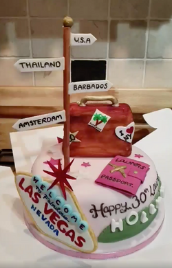 Travelling Cake
