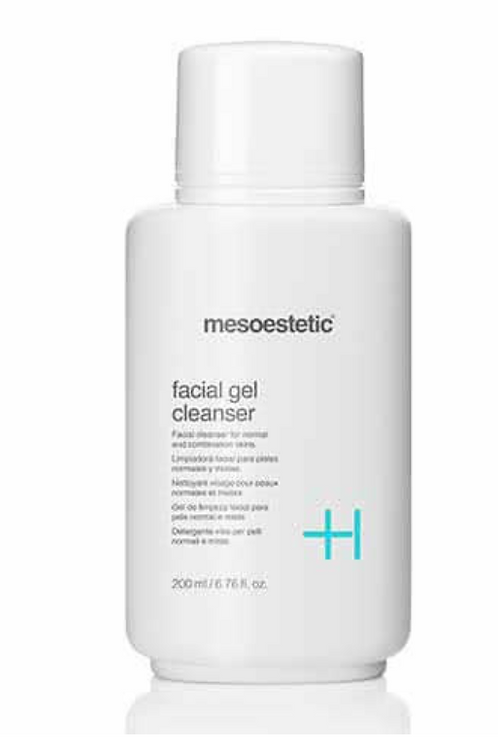 mesoestetic facial gel cleanser 200mL
