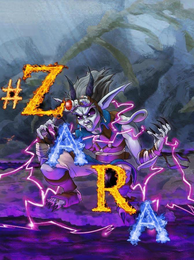#ZARA COVER ART NEW