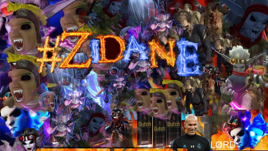 #ZIDANE COVER ART