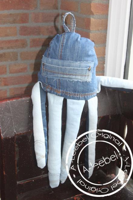 Octopus van jeans