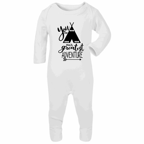 You are our greatest adventure Romper