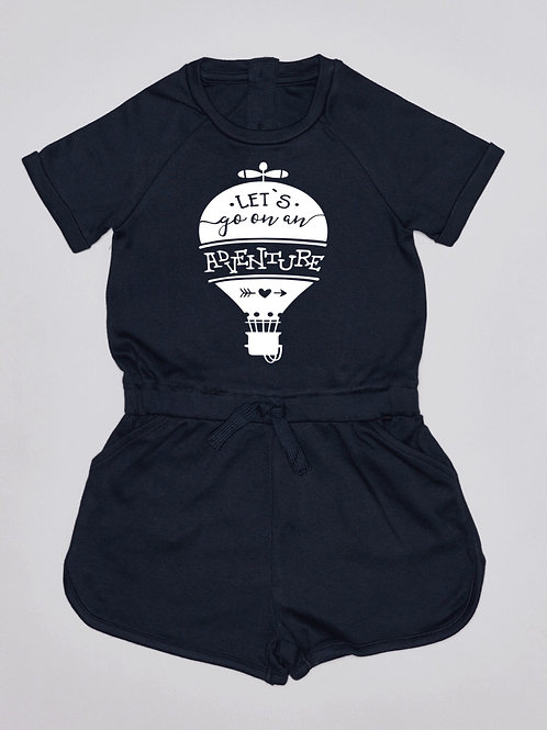 Lets go on an adventure Playsuit