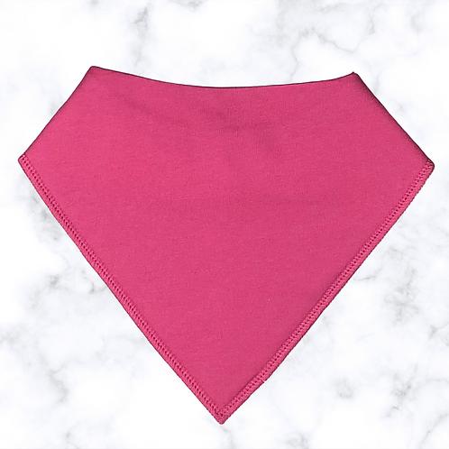 Bright Pink Dribble Bib