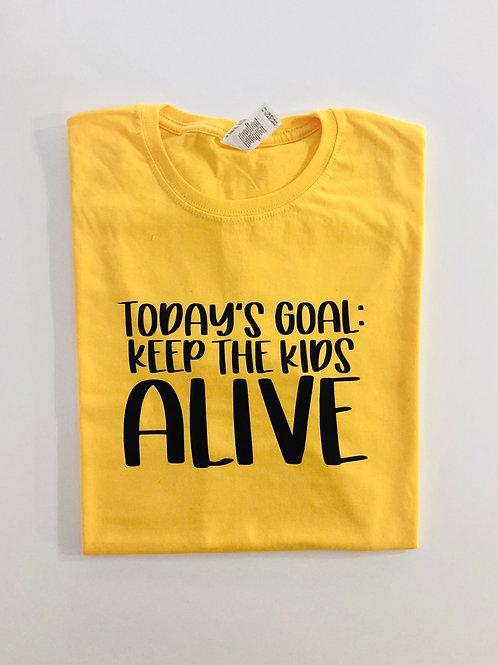 Todays Goal T-shirt