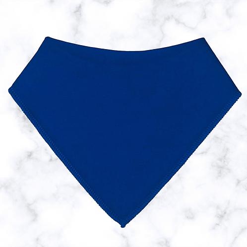 Royal Blue Dribble Bib
