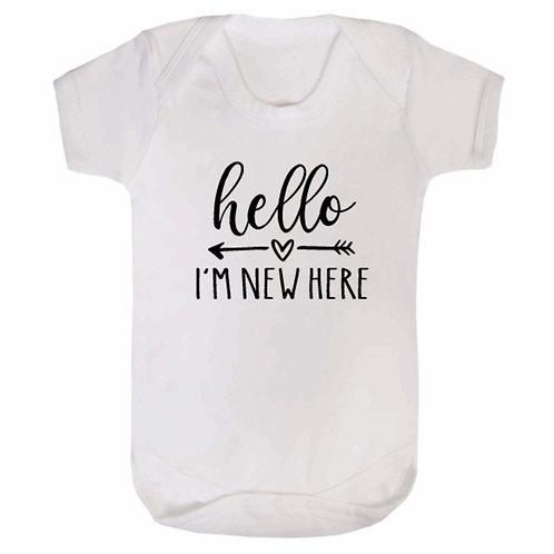 Hello Baby Vest