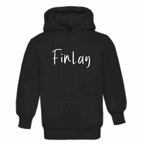 Chilled Vibes Font Hoodie