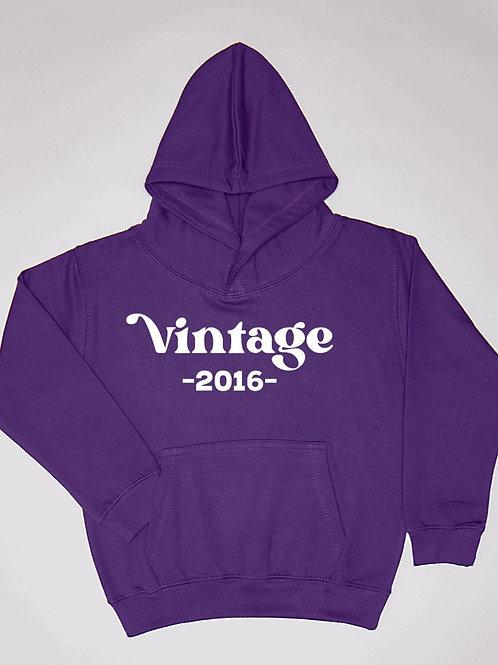 Vintage (Birth Year) Hoodie
