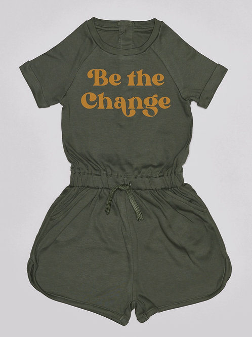 Be the change Playsuit
