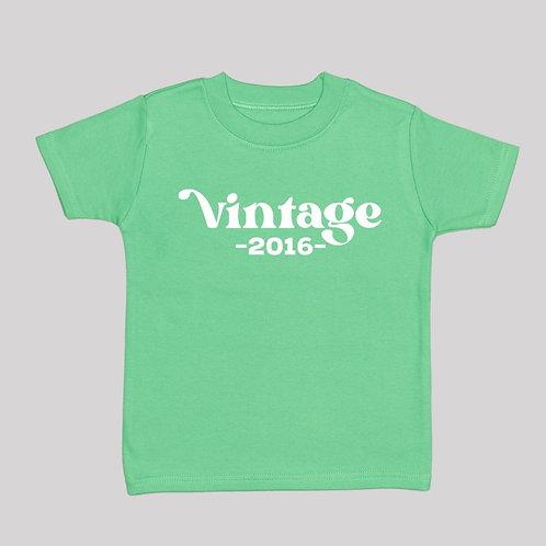Vintage (Birth Year) Tee