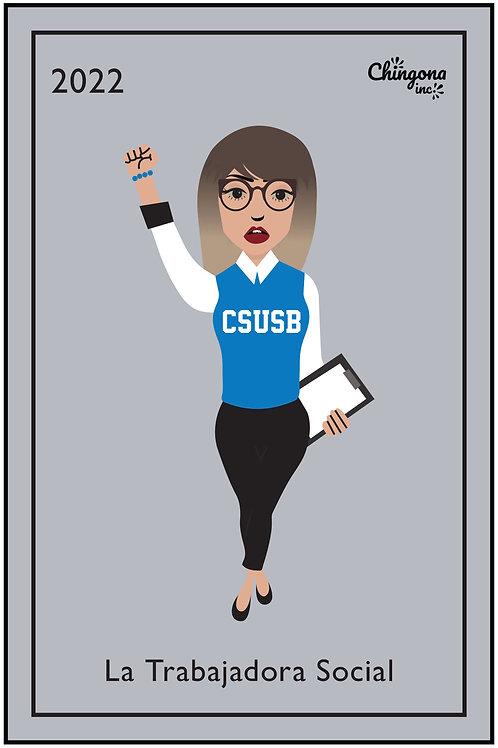 La Trabajadora Social CSUSB 2021 PNG