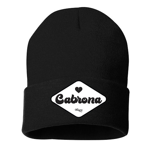 Cabrona Patch Beanies