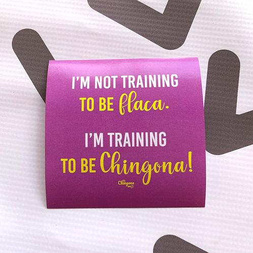 I'm Not Training To Be Flaca Sticker