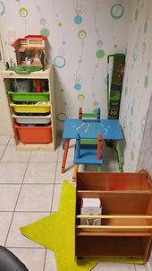 Salle de consultation - Espace enfant