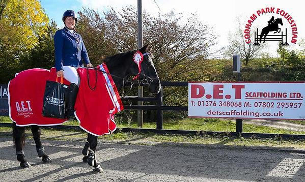 Codham Park Equestrian DET Scaffolding League Winner