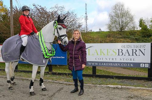 Codham Park Equestrian Lakes Barn Country Store Sponsored League Winner