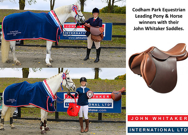 Codham Park Equestrian Leading Pony & Horse League Winners
