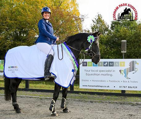 Codham Park Equestrian Horsemat League Winner