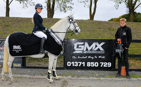 Codham Park Equestrian GMX Radiators Sponsored League Winner