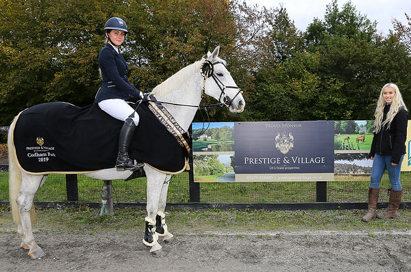 Codham Park Equestrian Prestige & Village Sponsored League Winner