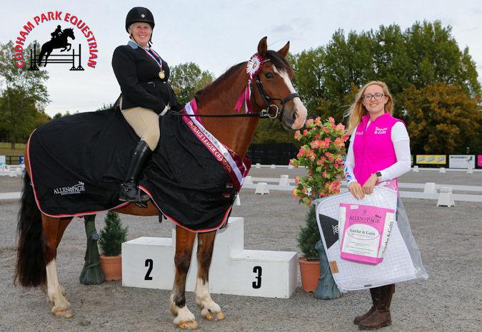 Codham Park Equestrian Allen & Page Dressage League Winner