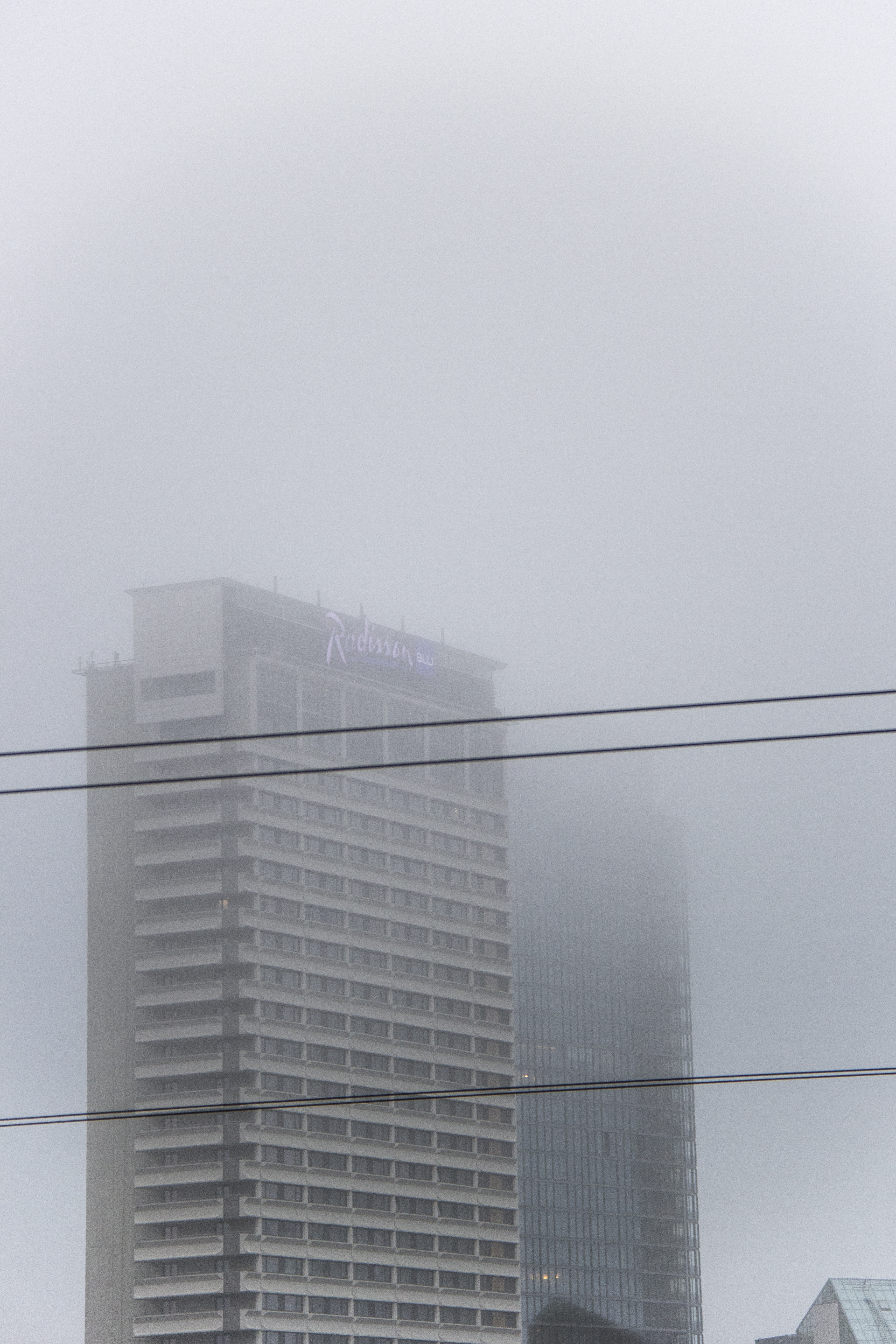 Foggy ombre [] Vilnius