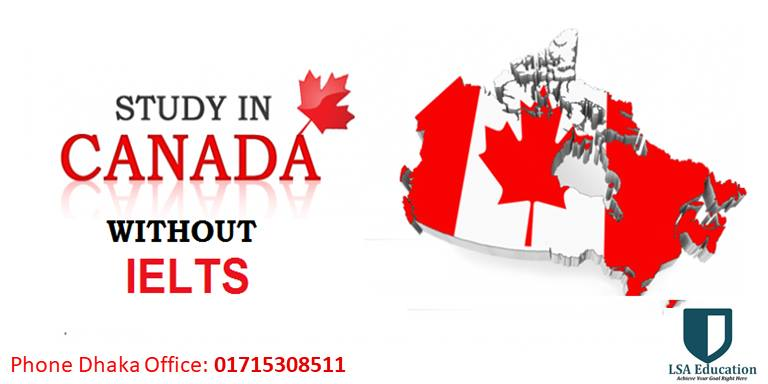 Explanation of how to study in Canada without IELTS?