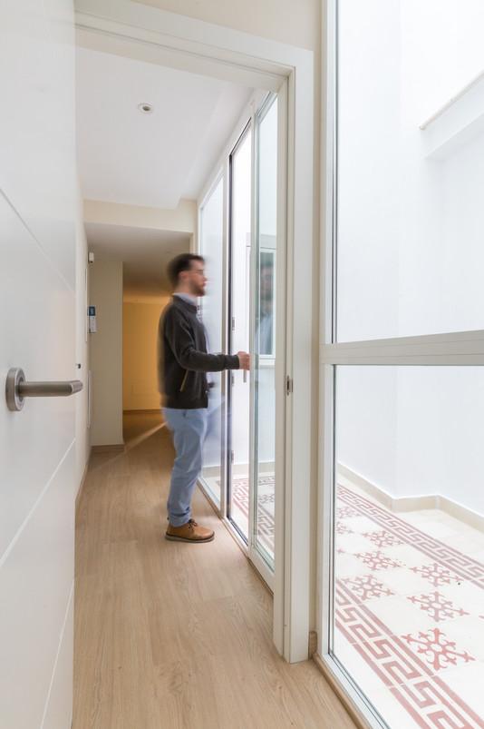 Apartment building renewal