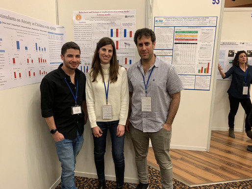 Motty and Gilad win 3rd place in ISBP poster competition
