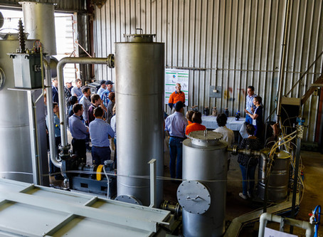 MIHG Pilot Plant officially opened!