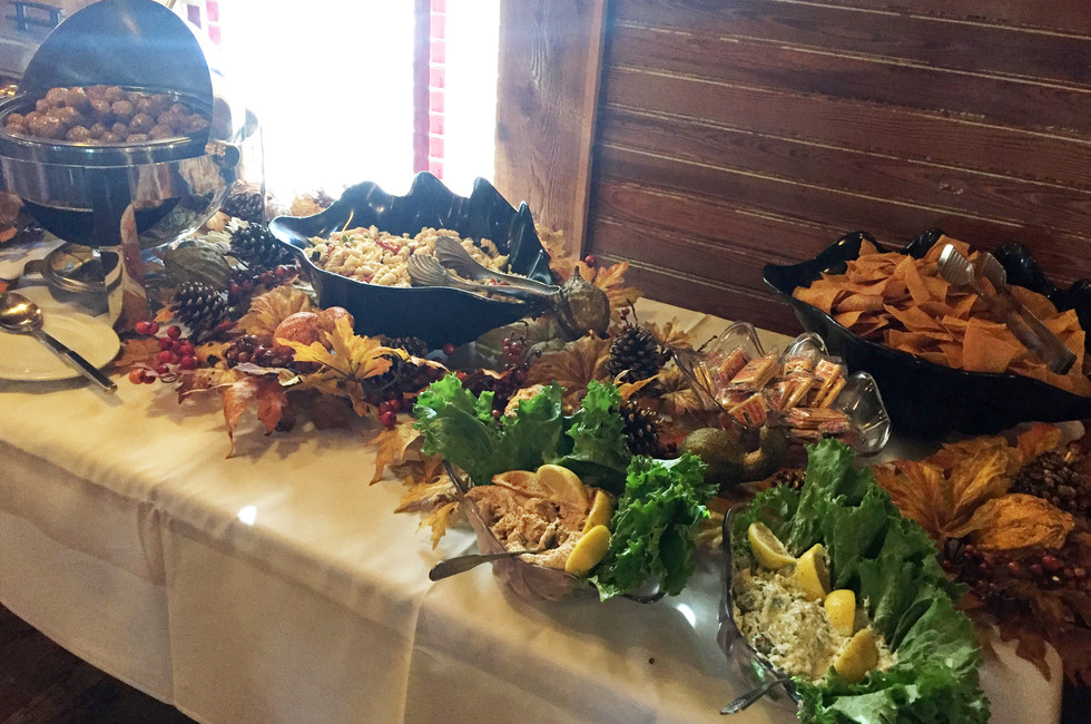 Hor's Doeuvres Buffet