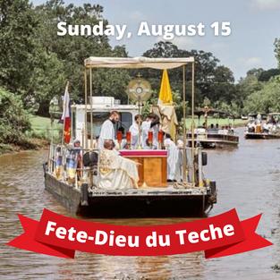 Fete-Dieu du Teche • Click for info