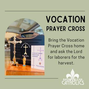Click! • Take Home the Vocation Prayer Cross