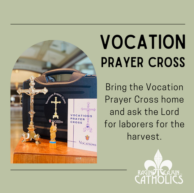 Click! • Take Home the Vocation Prayer Cross