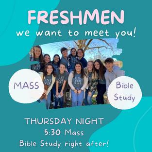 Freshmen Bible Study