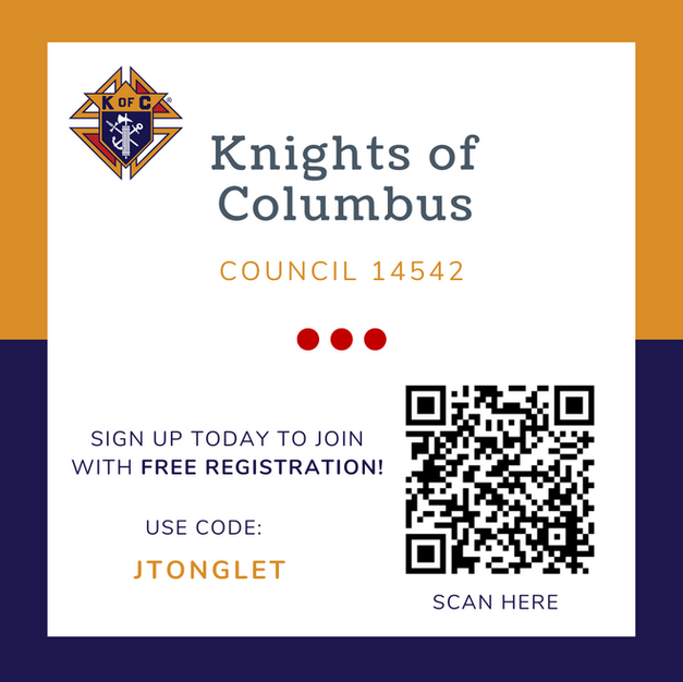 Join Knights of Columbus Council 14542