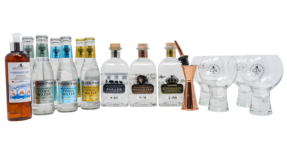 Stay safe at home G&T - Platinum package
