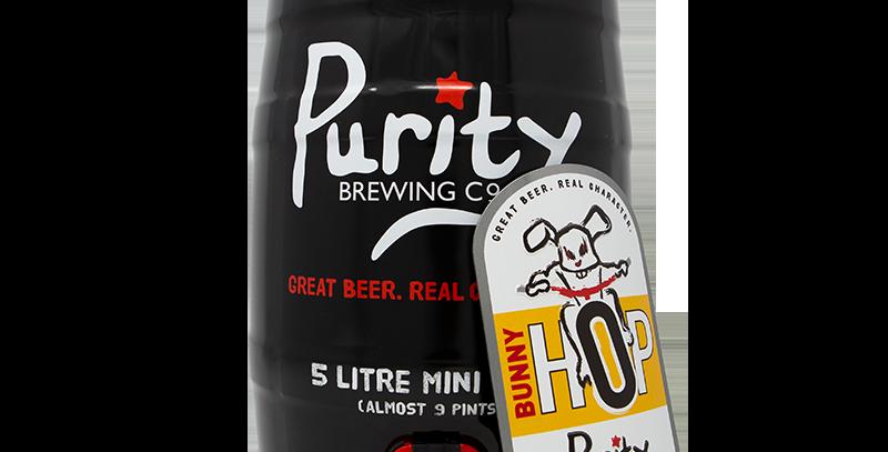 Purity Brewery - Mini Cask - Bunny Hop