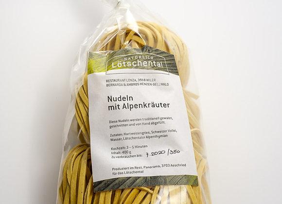 Alpine herb pasta