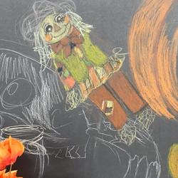 Sofia's Scarecrow Still-Life
